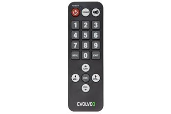 EVOLVEO remote control for seniors for Alpha T2 and Omega II