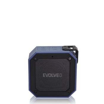 EVOLVEO Armor O2, 12 W, IPX7, outdoor Bluetooth speaker, blue-black