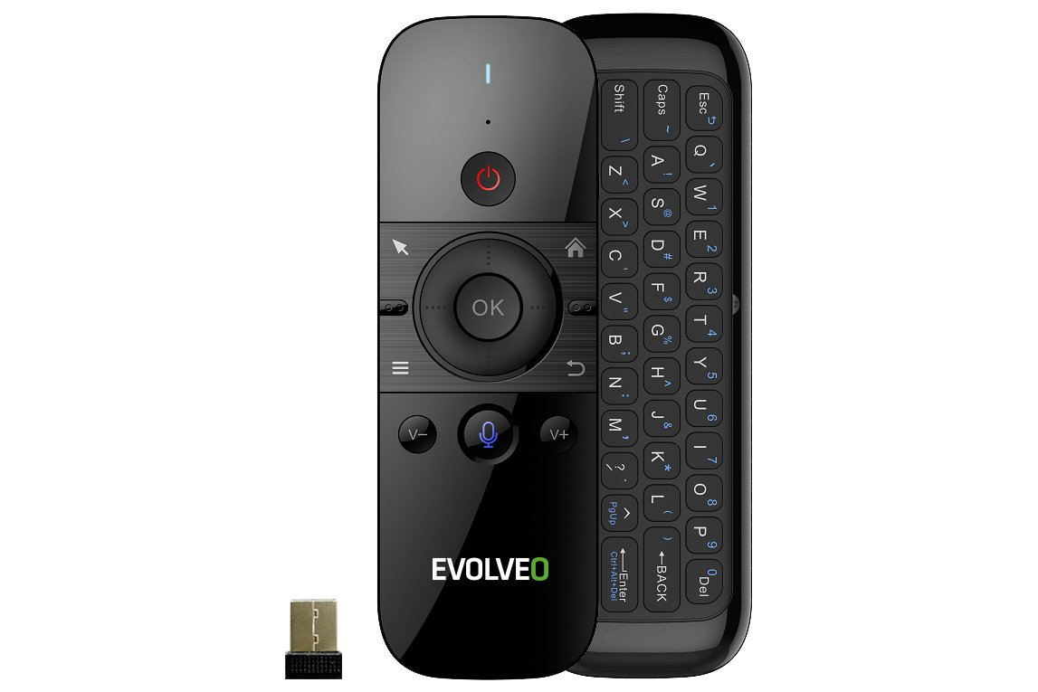 EVOLVEO FlyMotion D1, wireless gyroscopic mouse with keyboard